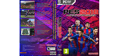 Pro Evolution Soccer 2018 (PES 2018) Cover